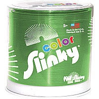 Color Metal Slinky Green