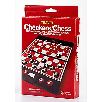 Checkers/ Chess Travel Edition