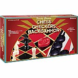 Chess/ Backgammon/ Checkers