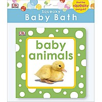 DK Baby Animals Bath Book Squeaky