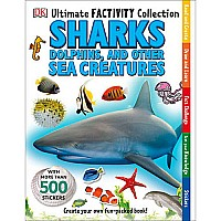 DK  Sharks Dolphins other sea creatures Sticker Book