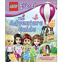 DK Friends Adventure Guide  LEGO Book