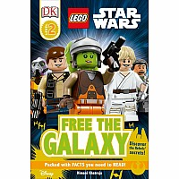 DK Star Wars Free the Galaxy Reader Book