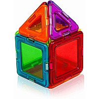 Magformers Rainbow Solids Clear 14pc Set
