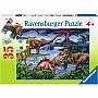 Dinosaur Playground puzzle (35pc)