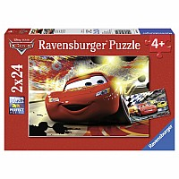 Cars Grand Entrance (2 x 24 pc Puzzles)
