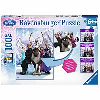 The Frozen Difference (100 pc XXL Puzzle)