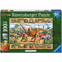 Dinosaurs puzzle (100pc)