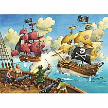 Pirate Battle 100 Piece Puzzle