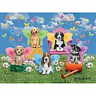 100-Piece Puzzle, Doggie Wings