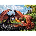 Dueling Dragons Puzzle XXL Pieces (200 pc)