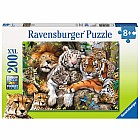 Big Cat Nap Puzzle XXL Pieces (200 pc)