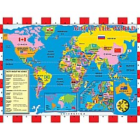 World Map (200 pc)