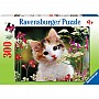 Flowery Kitty Puzzle (300 pc)