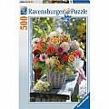 Beautiful Flowers 500 Piece Puzzle