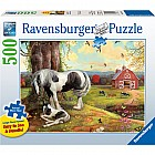 Asleep On the Farm Puzzle (500 pc)