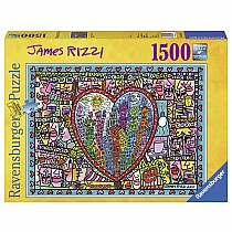 1000 pc James Rizzi: All that Love in the Middle of the City