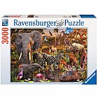 African Animals Puzzle (3000 pc)