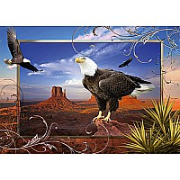 Majestic Eagle Puzzle (1000 pc)