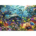 Colorful Underwater Kingdom 1000 Piece Puzzle