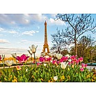 Eiffel Tulips Puzzle (1000 pc)