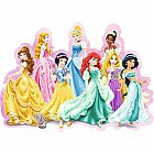 Disney Princesses (72 pc Shaped Contour Puzzle)