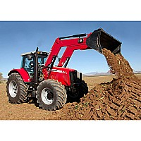 1:16 Big Farm Massey Ferguson 6480 with Loader