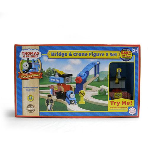 Thomas and Friends: Bridge Crane Figure 8 Set 99575 - Learning Curve