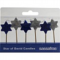 Star of David Party Candles