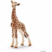 Schleich 14751 Giraffe Calf Toy Figure