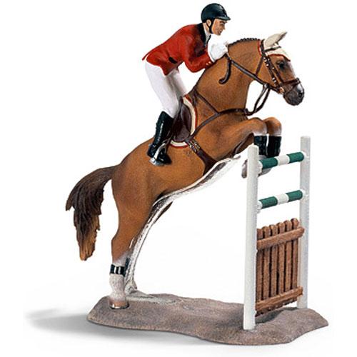 horse set show jumping toy sense. Black Bedroom Furniture Sets. Home Design Ideas