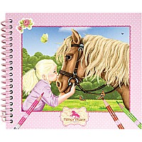 Horses Dreams Pocket Coloring Book