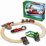 BRIO Cargo Harbor Train Set