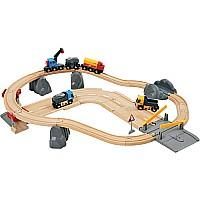 BRIO Rail & Loading Set