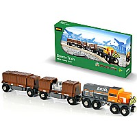 BRIO Boxcar Train and car