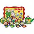 Babar Tin Tea Set