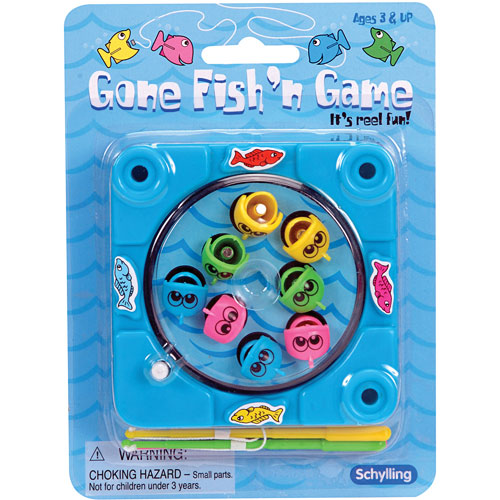 Gone fishing game wind up over the rainbow for Gone fishing game