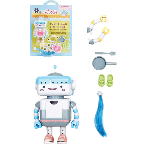 Lottie busy lizzie the robot monkey fish toys for Monkey fish toys