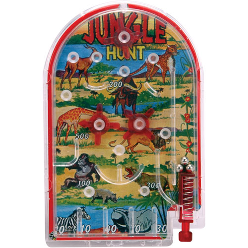 Mini Pinball Game Asst D The Toyworks