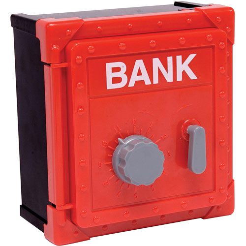 Coin sorting safe bank the toyworks - Coin sorting piggy bank ...
