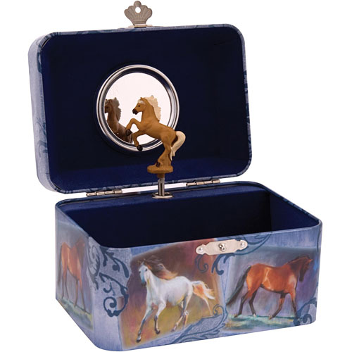 TIN Horse Jewelry Box The Toyworks