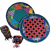 Chinese Checkers / Chess Tin