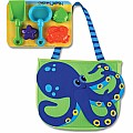 Beach Totes (W/Sand Toy Play Set) Octopus