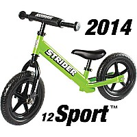 Strider 12 Sport No-Pedal Balance Bike - Green