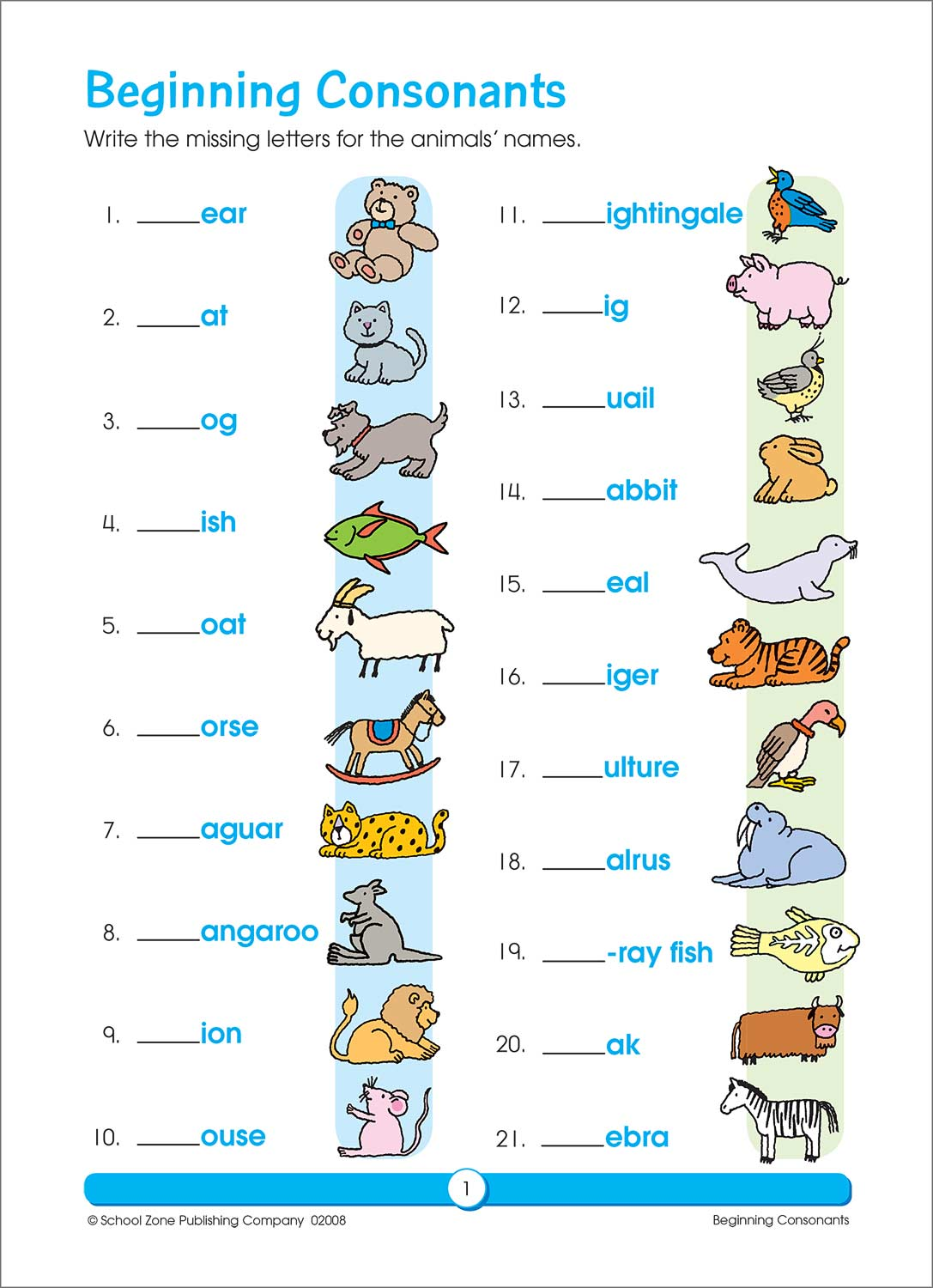 Second and Third Grade Workbooks - Phonics Review - Fun Stuff Toys