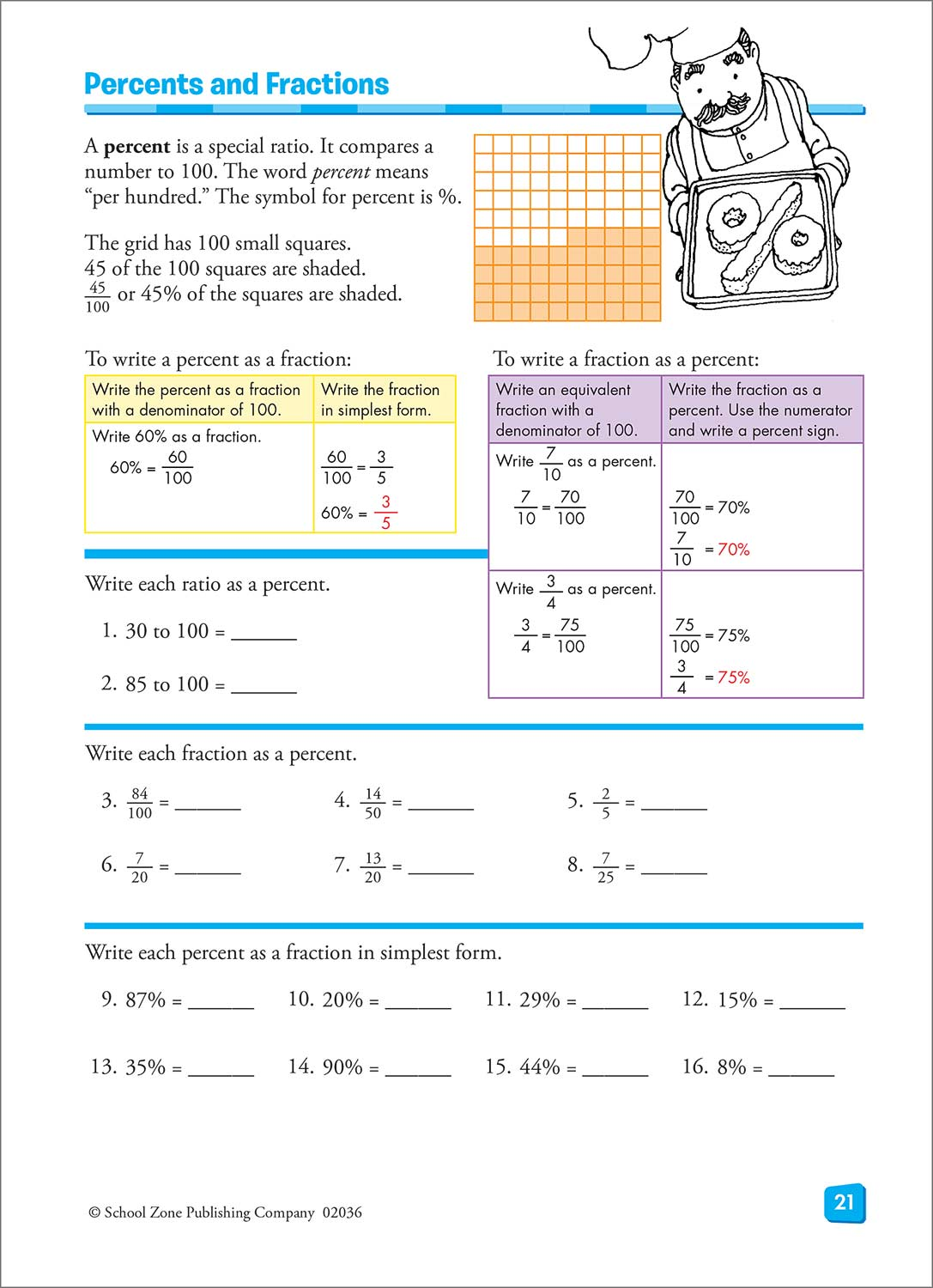 Fifth Grade & Sixth Grade Workbooks - Math Basics - Fun Stuff Toys