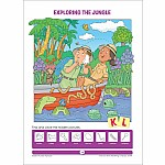 Hidden Pictures Alphabet Activity Zone Workbook