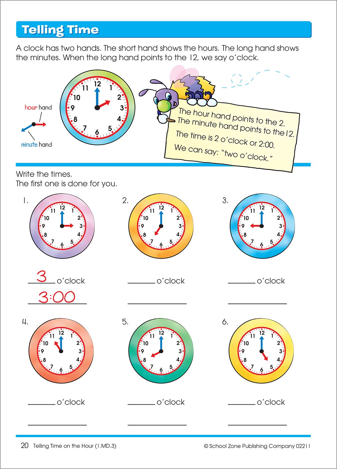 Time, Money & Fractions 1-2 Deluxe Edition Workbook - Fun Stuff Toys