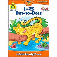 1-25 Dot-to-Dots Deluxe Edition Workbook