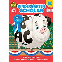 Kindergarten Scholar Deluxe Edition Workbook